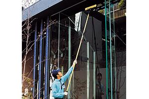 ガラス面フィルム施工サービス